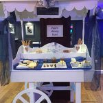 Old fashioned cheese cart