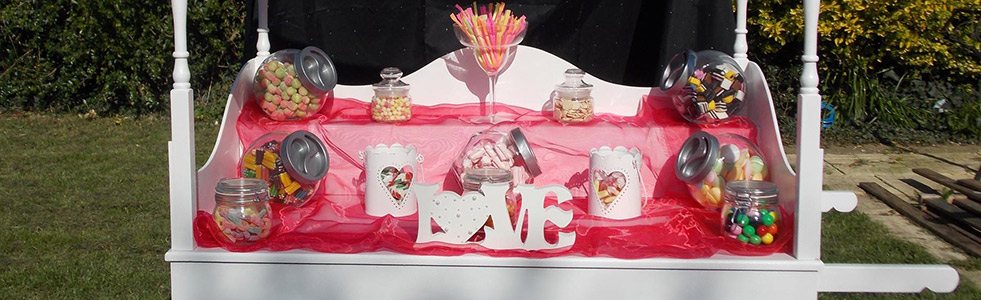 Sweet cart hire; cheese cart hire